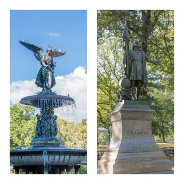 Central Park im Sommer