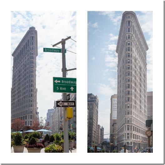Flatironbuilding - New York City - Reisebericht und Top Sehenswürdigkeiten