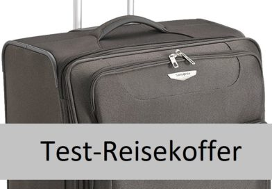 Test: Reisekoffer – Samsonite Suitcase Base Hits Spinner