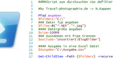 Get-ChildItem: Bilder anzeigen in PowerShell