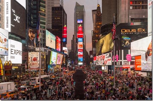 Times Square - New York City - Reisebericht und Top Sehenswürdigkeiten