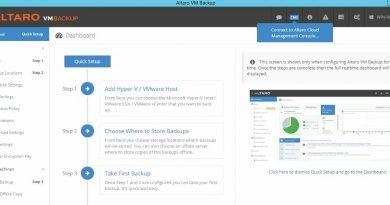 Altaro VM Backup – Installation und Konfiguration
